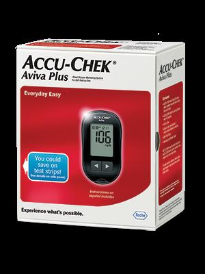 Accu Chek Aviva Plus Blood Glucose Monitoring System