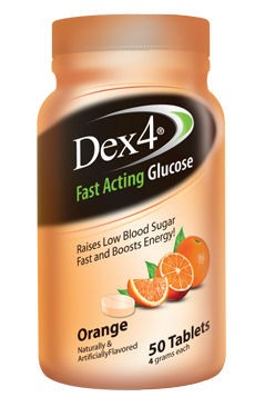 Dex4 Glucose Tablets 50's Orange
