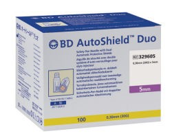 BD AutoShield Duo 5mm 100's