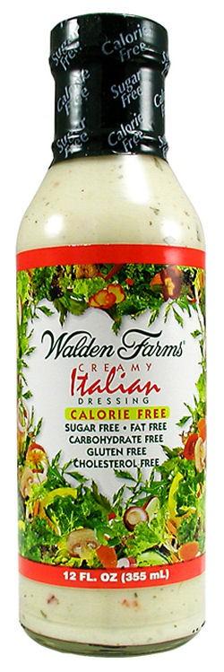 Walden Farms Salad Dressing Creamy Italian 12oz.