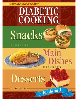 Diabetic Cooking 3 in 1