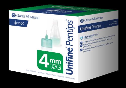 Unifine Pentips 4mm 100's