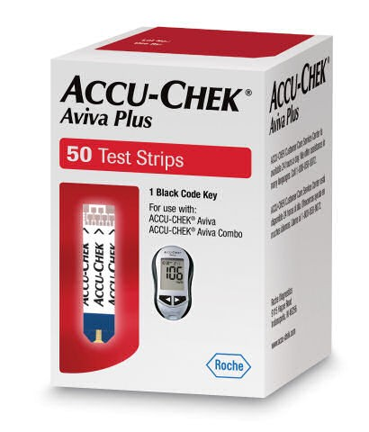 Accu-Chek Aviva Plus Test Strip 50's