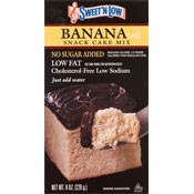 "Sweet""N Low Banana Cake Mix"