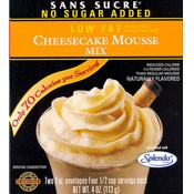Sans Sucre Cheesecake Mousse Mix