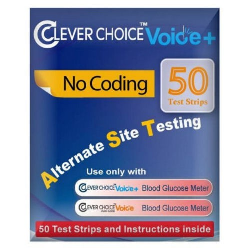 Clever Choice Test Strips 50's (for Voice or Standard)