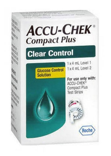 Accu-Chek Compact Clear Control Solution
