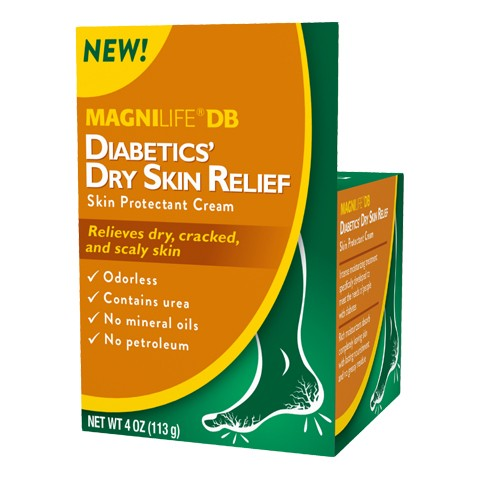 MagniLife DB Diabetic Dry Skin Relief 4oz.