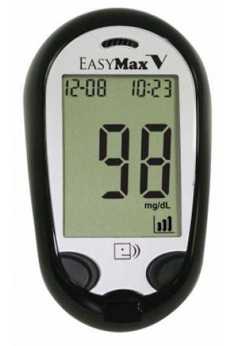 EasyMax V Blood Glucose Voice Meter