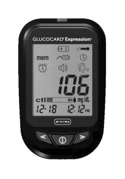 Glucocard Expression 150 Strips and Meter Combo