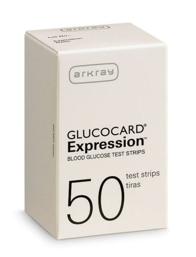 Glucocard Expression Test Strips 50's