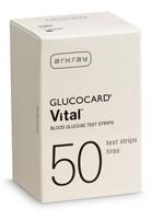 Glucocard Vital Test Strips 50's