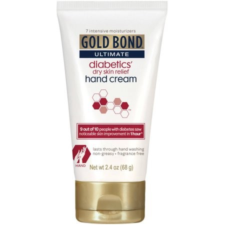 Gold Bond Ultimate Diabetics' Dry Skin Relief Hand Cream 2.4oz.