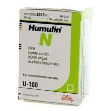 Humulin NPH (10ml vial)