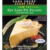 Sans Sucre Key Lime Pie Filling