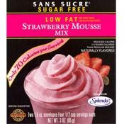Sans Sucre Strawberry Mousse Mix