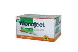 Monoject 28G Syringes 1cc 100's