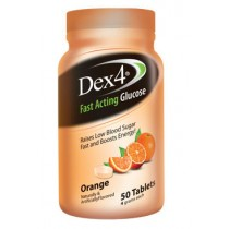 Dex4 Glucose Tablets 50's Orange