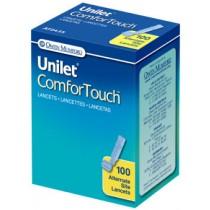 Unilet Comfort Touch Lancets 100's