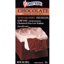 "Sweet""N Low Chocolate Cake Mix"