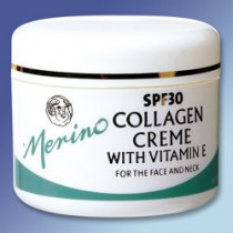 Merino Collagen Cream SPF 30 with Vitamin E 3.52oz.
