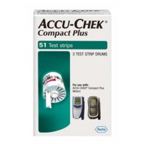 Accu-Chek Compact Plus Test Drums 3's (51 tests)