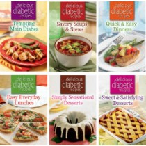 Delicious Diabetes Recipes 6pk