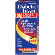 Diabetic Tussin DM Maximum Strength 8oz.