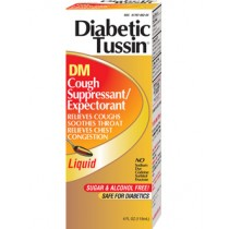 Diabetic Tussin DM 4oz.