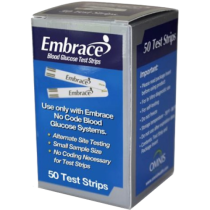 Embrace Test Strips 50's
