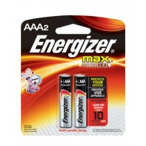 Energizer MAX AAA Batteries 2pk