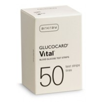 Glucocard Vital Test Strips 50's