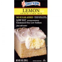 Sweet'N Low Lemon Cake Mix