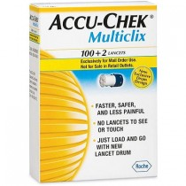 Accu-Chek Multiclix Lancets 102's