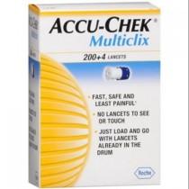 Accu-Chek Multiclix Lancets 204's