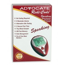 Advocate Redi-Code+ Speaking Blood Glucose Meter