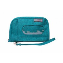 Sugar Bag Wristlet Teal