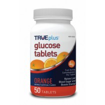 TRUEplus Glucose Tablets 50's Orange