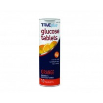 TRUEplus Glucose Tablets 10's Orange