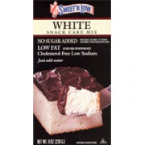 Sweet'N Low White Cake Mix