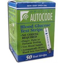 Prodigy Autocode Test Strips 50's