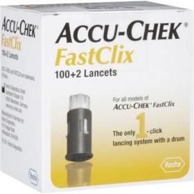 Accu-Chek Fastclix Lancets 102's