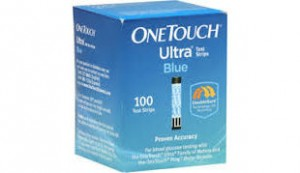 One Touch Ultra Blue Test Strips 100's
