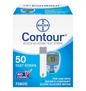 Bayer Contour Test Strips 50's