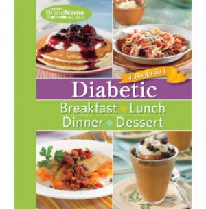 4 in 1 Diabetic Cookbook