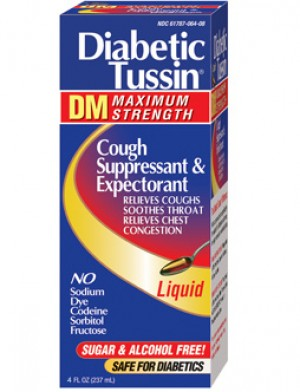 Diabetic Tussin DM Maximum Strength 4oz.