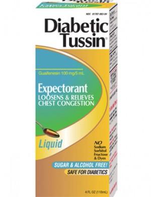 Diabetic Tussin EX 4oz.