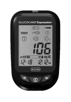 Glucocard Expression 300 Strips and Meter Combo