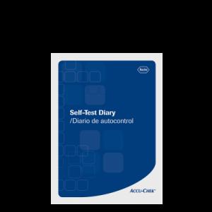 Accu-Chek Self Test Diary Log Book