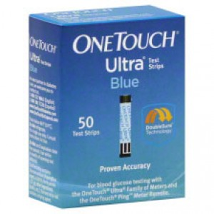 One Touch Ultra Blue Test Strips 50's